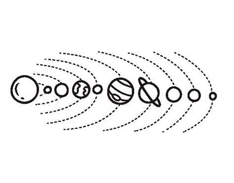 imagenes universo para colorear dibujo de sistema solar para colorear dibujos net