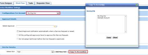 Servicedesk Plus Msp Complete Helpdesk For Msp Msp Sla Template