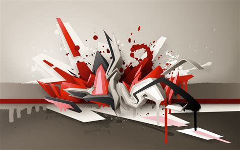 graffiti 3d 3d abstract daim graffiti wallpaper walldevil