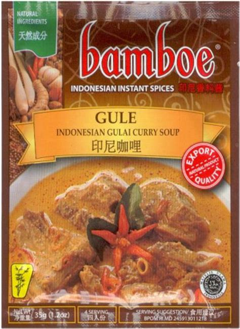 Bamboe Bumbu Sup Gule Indonesia bamboe spices mart discount