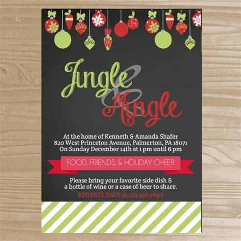 Come Shop N Mingle by Jingle Mingle Invitation By