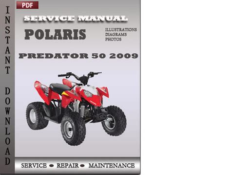 Polaris Predator 50 Outlaw 90 Sportsman 90 2009 Polaris