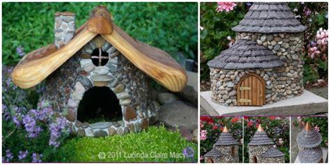 diy fairy house amazing miniature diy stone fairy house beesdiy com