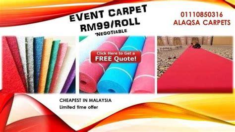 Karpet Lantai 1 Roll exhibition carpet supplier malaysia pembekal karpet exhibition 1 malaysia offered from selangor
