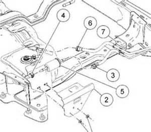2006 mercury mountaineer fuel filter engine mechanical problem