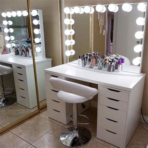 diy makeup vanity desk white vanities for one of a washroom stylistic theme bestartisticinteriors