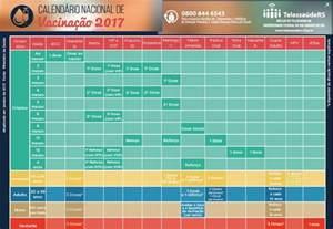 Calendario Vacinal Atualiza 231 227 O Da Tabela Vacinal 2017 Telessa 250 Ders Ufrgs