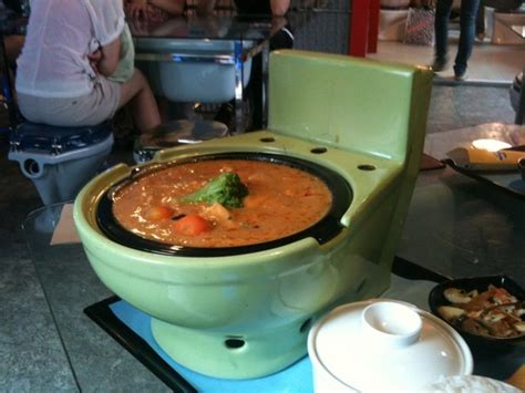 Stools That Stick To The Toilet Bowl by The World S Only Toilet Themed Restaurant Chain