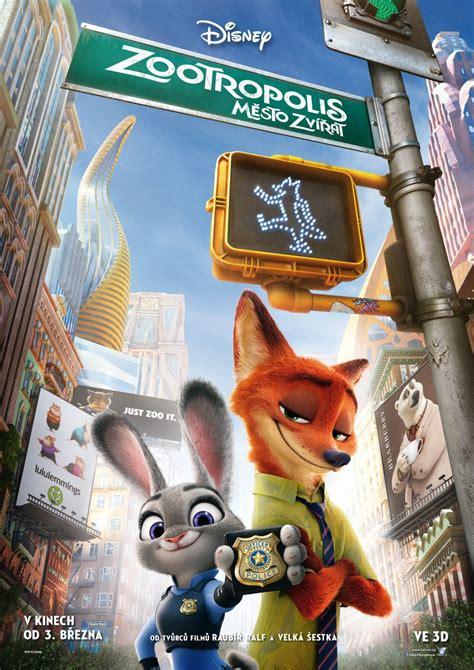 film disney zootopie zootopia czech poster disney s zootopia photo 39284739