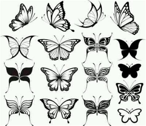 small black and white butterfly tattoos 7 awesome butterfly designs and ideas