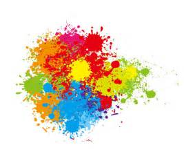 colorful paint splatter vector art 9136 welovesolo