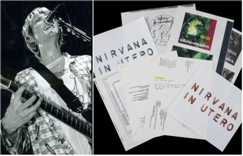 To Auction Kurts Stuff by Kurt Cobain Memorabilia Up For Auction Including His