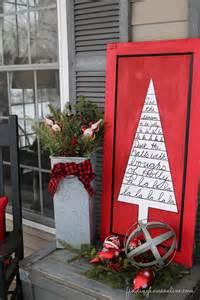 outdoor christmas decorating sharpie art tree sign