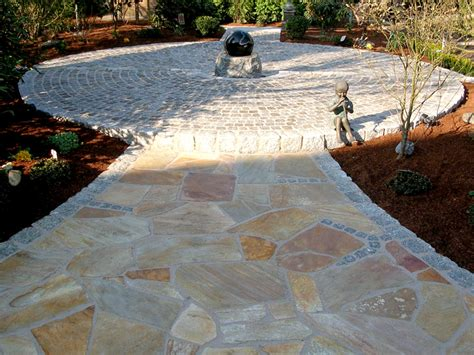 Polygonalplatten Terrasse Verlegen by Bodenplatten F 252 R Den Garten Baustoffe Ruhr