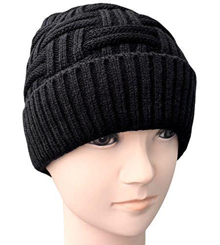 Kupluk Wool Winter Hat Beanie Biru loritta mens winter warm knitting hats wool baggy slouchy beanie hat skull cap jodyshop