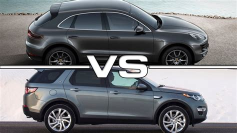ford range rover look alike 2015 porsche macan s vs 2015 range rover discovery sport