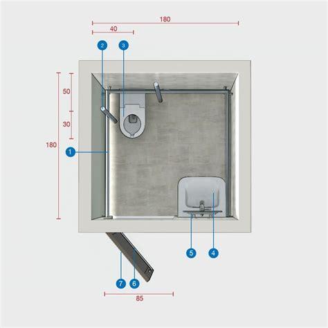 dimensione minima bagno bagno disabili dimensioni minime dimensioni minime bagno