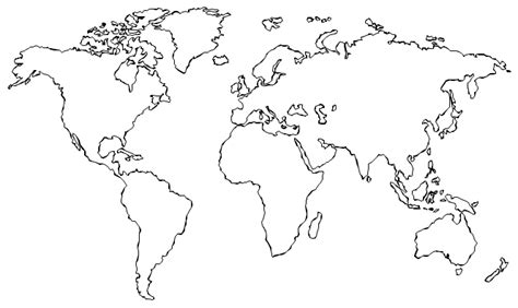 World Map Hd Outline by Best 25 World Map Outline Ideas On Outline Of World Map World Outline And World