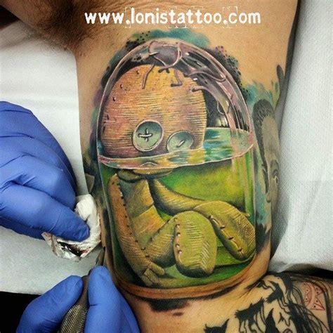 jokers voodoo tattoo and piercing studio voodoo doll tattoo by lonis lonistattoo www lonistattoo