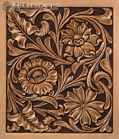 drawing pattern on leather 145 best leather tooling patterns images on pinterest