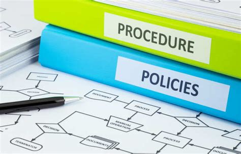 procedure interne aziendali policies guidance administration and support services
