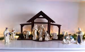 the cul de sac home for the holidays our nativity scene