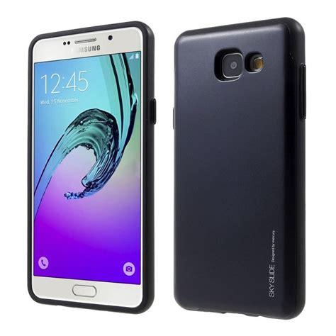 Bumper Slide Cover Hardcase Casing Samsung Galaxy A3 Samsung Galaxy A3 2017 Sky Slide Bumper Black
