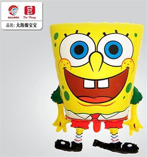 Balon Foil Karakter Spongebob 60 Cm hight quality 50pcs lot 45 57cm spongebob helium balloon