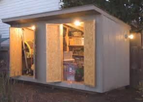 wiring a garden shed extreme how to