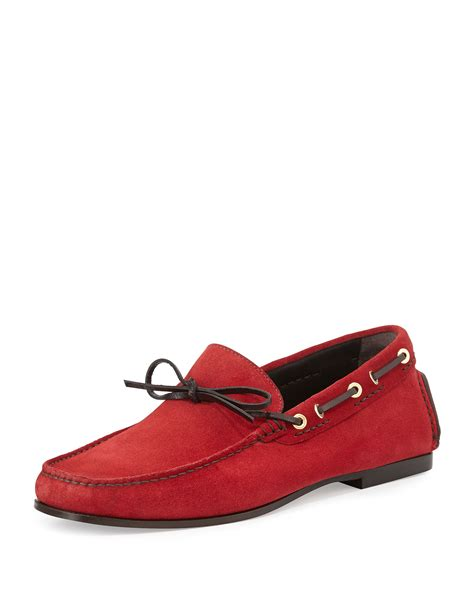 tom ford loafers tom ford suede driving loafer in for lyst