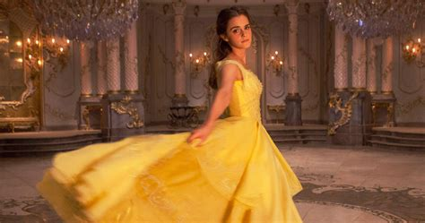 emma watson yellow dress beauty and the beast new beauty and the beast movie images will have you in