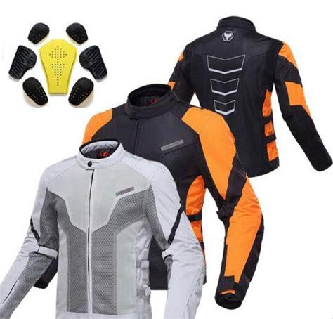 summer bike jacket summer duhan moto motorcycle riding reflective safety
