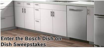 Dish Sweepstakes - bosch dish on dish sweepstakes sun sweeps