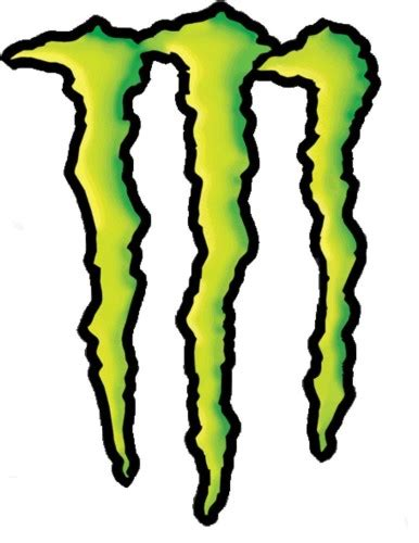 Monster Aufkleber by Monster Energy Color Jpg