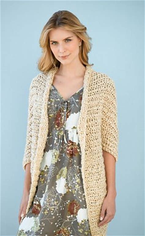 pattern for simple shrug pattern library crochet shrugs and simple crochet on
