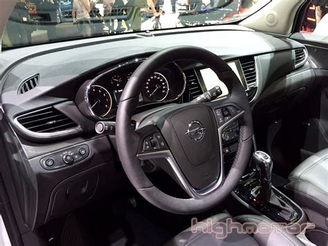 opel mokka interior opel mokka x interior highmotor 2