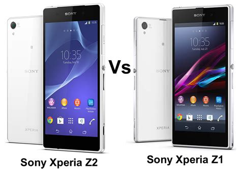 Hp Sony Xperia Z Z1 Z2 sony xperia z2 vs sony xperia z1 what are the differences