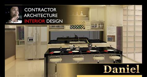 kartu nama desain interior interior design apartemen modern golf rusunami rumah