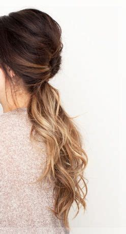 strong hard to manage hair 5 quick hairstyles for long hair pony tails vanities