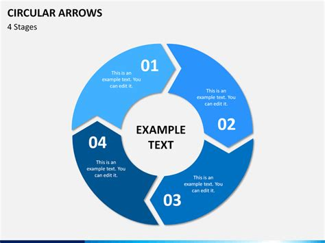 Circular Arrows Powerpoint Template Sketchbubble Circular Arrows Powerpoint