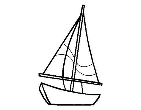 dibujo barco velero para colorear dibujo de un velero para colorear dibujos net