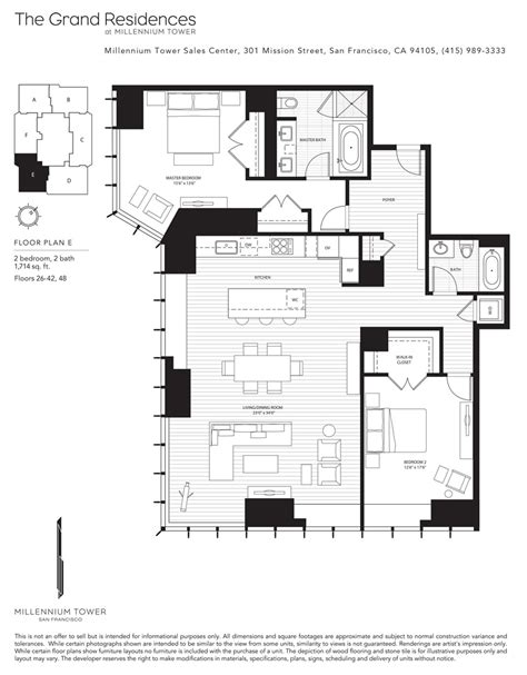millennium tower floor plans millennium tower skybox realty