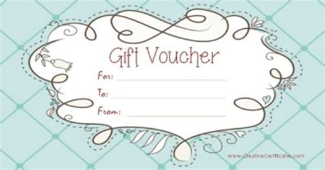 Free Gift Cards No Participation Required - free printable gift vouchers instant download no registration required gift