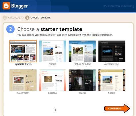 blogger app choose template appsgeyser