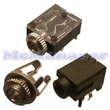 Socket Mini Stereo 3 5 Pcb 3 5mm chassis socket ebay