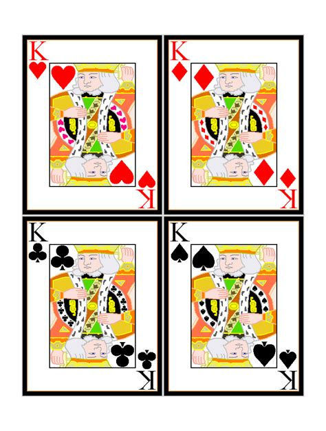 printable playing card free playing cards images cliparts co
