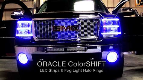 2008 gmc lights gmc custom oracle lighting installation by advanced