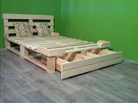 wood bedroom furniture plans pallet bed with storage plans wooden pallet beds
