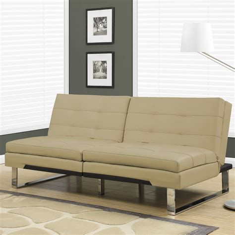 Click Clack Sofa Bed Allen Click Clack Sofa Bed In Taupe Shop Condo Sized