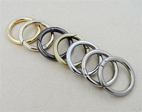 snap clip trigger gate o ring keyring buckle bag accessories rings 3 4 quot 1 quot ebay